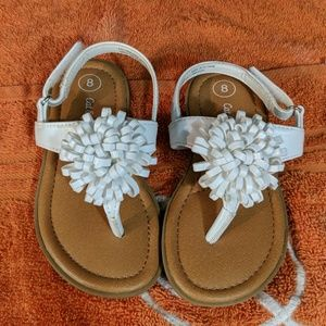 Cat and Jack girls sandals size 8